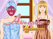 Avocado Makeover    Help this girl look pretty by doing a facial and pick out the best dress, accessories to make her look gorgeous. use mouse  http://ezarcade.net/games/avocado-makeover/