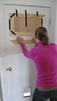 How To Hide An Unused Door Nesting In 2019 Bedroom