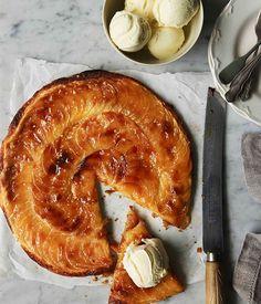 Australian Gourmet Traveller recipe for fine apple tart. Tart Recipes, Apple Recipes, Gourmet Recipes, Sweet Recipes, Dessert Recipes, Cooking Recipes, Cupcake Recipes, Cooking Ideas, Fall Desserts