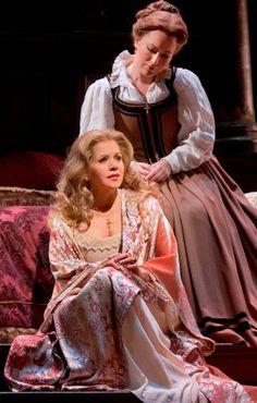 "Renée Fleming in a performance of Verdi's ""Otello"""