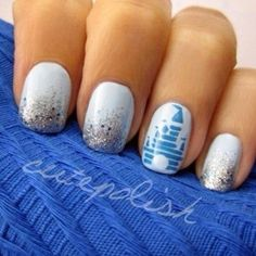 Today we will put forward our top 9 favorite Disney nail art designs which will take you back to your childhood. Nails Ideias, Cute Nails, Pretty Nails, Gorgeous Nails, Nail Art Disney, Disney World Nails, Simple Disney Nails, Disney Manicure, Nails For Disney