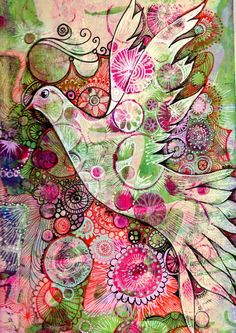 Freckles and Flowers blog. Paula Watkins Gelli Arts workshop. Check out this site for some beautiful ideas