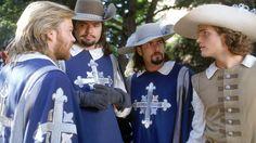 Athos, Porthos, Aramis and D'artagnan. The Three Musketeers- 1993