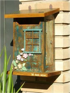 Caixas de Correio decorativas e charmosas!por Depósito Santa Mariah