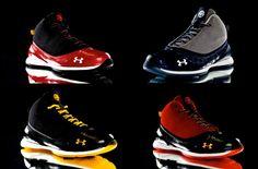 Under-Armour shoes / 농구화에 대해 가지고 있는 불만 중 하나는 그 외피가 더이상 기능성에만 치중하지 않고 있다는 점이다. 갈수록 번잡해져가는 디자인이 싫다.