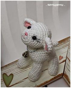 Mesmerizing Crochet an Amigurumi Rabbit Ideas. Lovely Crochet an Amigurumi Rabbit Ideas. Crochet Animal Patterns, Stuffed Animal Patterns, Crochet Patterns Amigurumi, Amigurumi Doll, Crochet Animals, Crochet Dolls, Knitting Patterns, Crochet Sheep, Easter Crochet