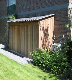 Small Backyard Gardens, Backyard Sheds, Backyard Garden Design, Backyard Retreat, Back Gardens, Outdoor Gardens, Backyard Landscaping, Garden Tool Shed, Garden Storage Shed