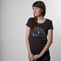 Love your librarian womens tee by AlisonRose on Etsy, $20.00