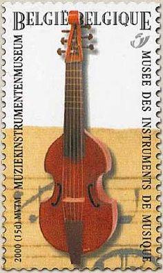 belgian stamps Music Discantgamba