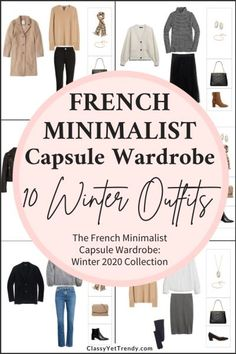 Always know what to wear with a French Minimalist capsule wardrobe for the Winter season! This post is a preview of the e-Book, The French Minimalist Capsule Wardrobe: Winter 2020 Collection.  I'm sharing a few pieces in the capsule that you can mix and match with other pieces to create several outfits! I'm excited to share ... Read More about The French Minimalist Winter 2020 Capsule Wardrobe Sneak Peek + 10 Outfits Create Your Own Calendar, Classy Yet Trendy, Know The Truth, Coordinating Colors, Dressy Outfits, Mix N Match, Capsule Wardrobe, Long Sleeve Tees, Minimalist