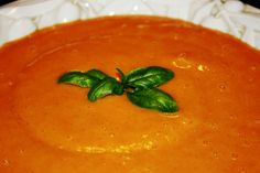 Finger Lickin' Good | Dr. Mark Hyman  Roasted Red Pepper & Cannellini Bean Soup via drhyman.com