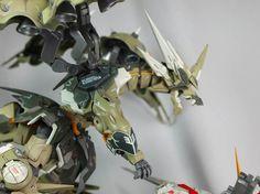 Gundam Unicorn Centaur vs. Dragon Kshatriya Ver-2 - Diorama Build   Modeled by alphaleo14   Thanks for hooking us up with your awesome buil...