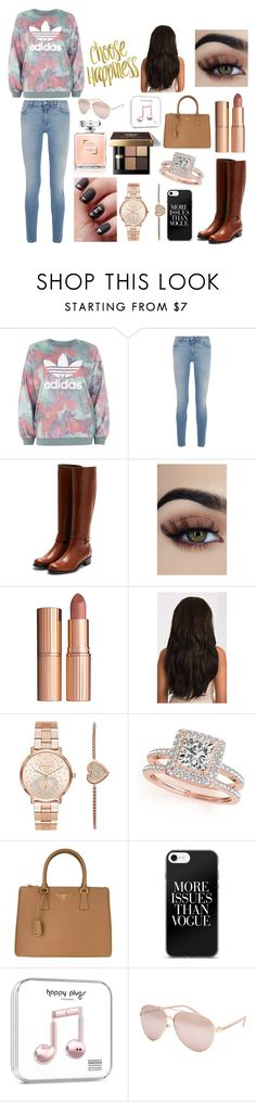 """Untitled #74"" by prettygirlgotit123 ❤ liked on Polyvore featuring adidas, Givenchy, Rupert Sanderson, Charlotte Tilbury, Bobbi Brown Cosmetics, Michael Kors, Allurez, Prada and Full Tilt"