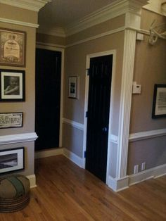 trim at wall corner: clever way to fight nicks and gouges