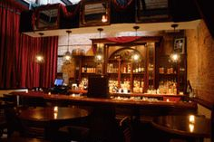 1914 Speakeasy Bar (via the Red Ivy) - Chicago 1920s Bar, 1920s Speakeasy, Chicago Bars, Chicago Trip, Prohibition Bar, Vintage Party, Inspiration Boards, Dark Wood