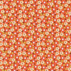 lovely – ditty flowers - orange