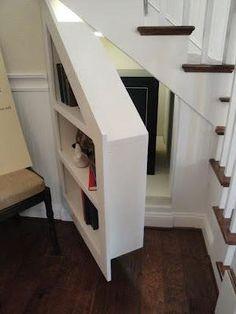 Storage Ideas Under Stairs