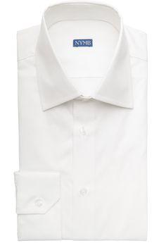 Carnera Weißes Hemd mit Stretchanteil