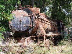ABANDONED STEAM ENGINES, ARGOLIS, GREECE  http://www.retronaut.co/2011/10/abandoned-steam-engines-argolis-greece/#
