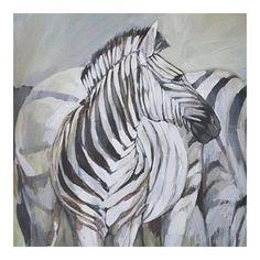 """4 Me gusta, 1 comentarios - Lauren Hill (@laurenbarksdalehillart) en Instagram: """"48x48 zebras SOLD"""""""
