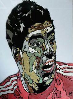 Luis Suarez Glass Painting https://www.facebook.com/AngiesGlassworks?fref=ts