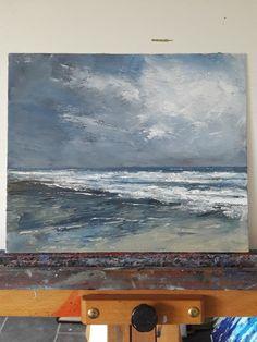 Morning Tide 12 x 10 ins oil on canvas more at artfinder.com/john-halliday