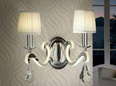 Apliques de estilo clásico con luz led : Colección CRETA 2L