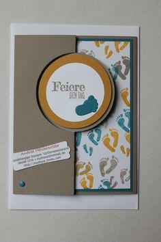 Stampin´Up!, Kreatives Muthaus, Muster-Glückwunsch-Karte 4 für ein Orthopädie-Fachgeschäft. Mehr unter: www.muthaus.jimdo.com