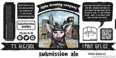 mybeerbuzz.com - Bringing Good Beers & Good People Together...: Alpha Brewing - Submission Ale & Elder Joe