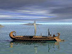Greek Ships Trojan War | Greek Trireme. http://www.littleblueschool.com . Web. 16 February 2010 ...