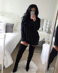 Black everything