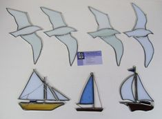 seagull stained glass pattern - Google Search