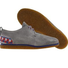 Adidas Alan CS - Ransom shoes in tech grey and bone.