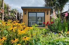 Gallery | Insulated Garden Rooms | Outside In Backyard Office, Garden Office, Home Office, Summer Houses Uk, Insulated Garden Room, Outdoor Garden Rooms, Boundary Walls, Gym Room, Garden Studio