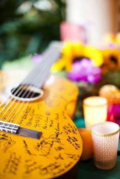 35 non traditional and creative wedding guest book ideas 15 500x749