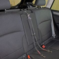 Bushwhacker - Paws n Claws Two Dog Tangle Free Tether Vehicle Adjustable Restraint Backseat Leash Truck Seat Belt Split Double Lead Car Harness Pet Barrier SUV Carrier Extender Cover Tie Down 2 - Dog Store Dog Seat Belt, Dog Car Seats, Dog Car Barrier, Dog Clothes Patterns, Paws And Claws, Dog Safety, Two Dogs, Dog Carrier, Dog Accessories