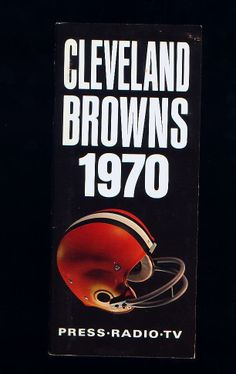 1970 Cleveland Browns, NFL Football Media Guide
