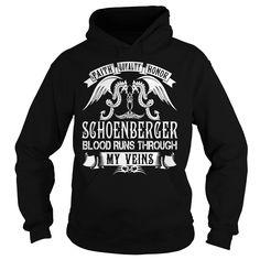 SCHOENBERGER Blood - SCHOENBERGER Last Name, Surname T-Shirt