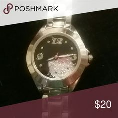 Hello Kitty Hello Kitty stainless steel watch. Face is scratched a little bit. Jewelry