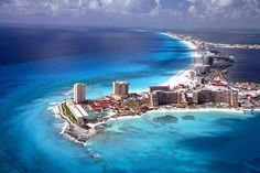 Cancun is the crown jewel of Mexican resort destinations. With its powder white sand beaches and crystal clear water, its no wonder its one of the world's most popular vacation spots.