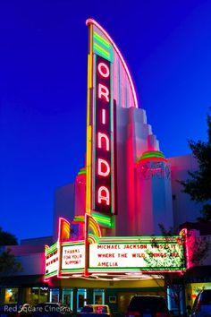 Orinda's landmark theater.