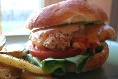 Cali chicken Burger