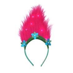 Sharon 2016 - £4.99 Smyths toys - Fans of Trolls, the hair-raising, comedy-filled musical adventure, will love this awesome light up Aliceband which features life-like Trolls hair with lights. Trolls fans can now look like their favourite Trolls character with Poppy's light up Aliceband.