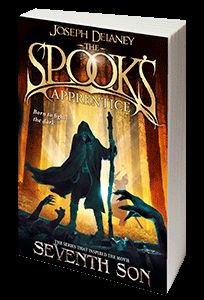 The Spook's Apprentice - by Joseph Delaney  This is the first book from The Wardstone Chronicles - a collection of 13 books about spooks, witches, monsters, magic, mystery, love and trust.    It may seem for children at first, but the characters are wonderfully written and the action is getting more and more interesting with every single book.The books are easy to read. The writer manage to keep the reader in suspense until the end of the last book.