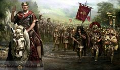 Julius Caesar and Legio X Equestris. This legion was levied by Julius Caesar in 61 BCE when he was Governor of Hispania Ulterior. The Tenth was the first legion levied personally by Caesar, and was consistently his most trusted. Julius Caesar, Ancient Rome, Ancient History, Rome Antique, Roman Legion, Roman Republic, Empire Romain, Templer, Roman Soldiers