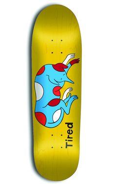 Tired Skatebards New skateboard company by Parra 04 570x912 Tired Skateboards New skateboard company by Parra