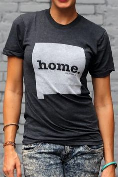 New Mexico Home T State Shirt | Bourbon & Boots