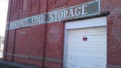 Hastings Cold Storage ghost sign, Hastings, NE