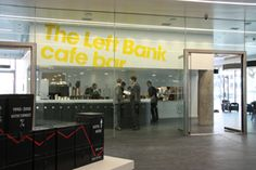 The Left Bank cafe bar, Left Bank  Bridge Street  Spinningfields  Manchester M3 3ER