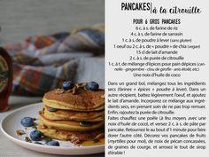 Healthy | Noglu  Pancakes à la citrouille
